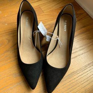 NWT Old Navy black heels